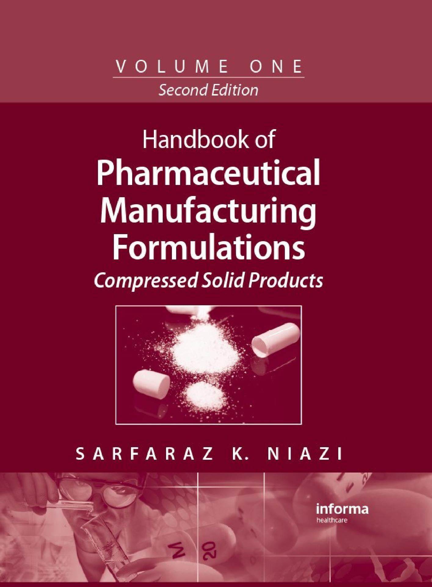 药物制剂学手册(1-6卷)